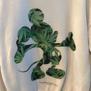 f7c297da41d61 Dimepiece Sweaters | Mickey Weed Disney Crewneck Sweatshirt | Poshmark